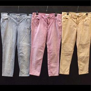 Bundle of Free People Jeans.